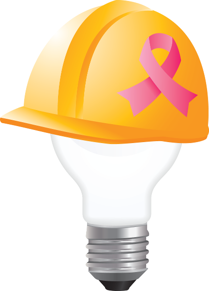 ChemHAT icon with pink ribbon