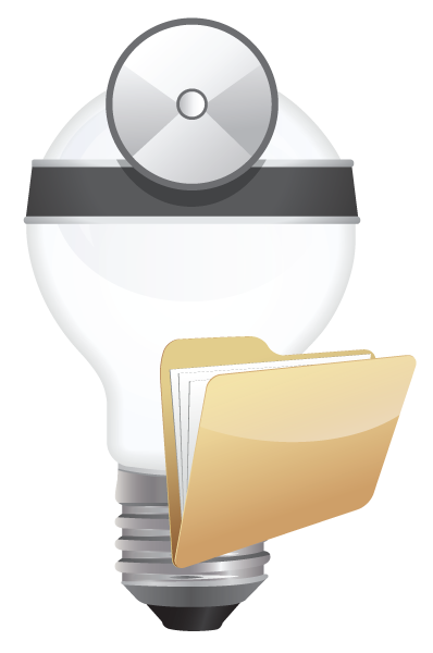 ChemHAT lightbulb logo wearing physicians reflector